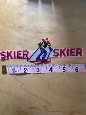 New listing RACE SKIER ~ Vintage Ski Patch ~