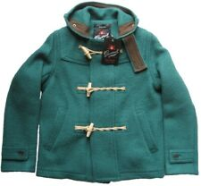 GLOVERALL Herrenjacke-Duffle Coat mit Kapuze DUFFLES Green