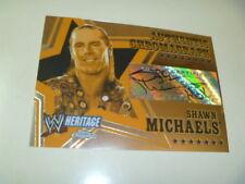 WWE RARE AUTOGRAPH TOPPS HERITAGE CHROME AUTO SHAWN MICHAELS HBK CARD HOF