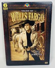 Tales of Wells Fargo - [Best of the First 5 Seasons]-6 DVD SET -VGC - Box Wear