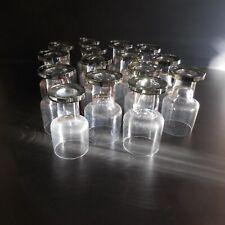 15 verres table cristal fait main vaisselle art déco design XXe France N4196