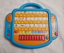 Learning Toy Bilingual Phonics English Spanish Letters Numbers Music Blue
