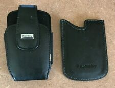 Blackberry 8300 Series Pocket Pouch Case Holder and Leather Holster / Case