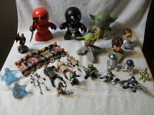 HUGE LOT OF STAR WARS FIGURES SKATEBOARDS ORNAMENTS AND MORE!