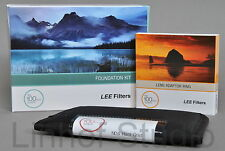 Lee Filters Foundation Holder Kit, 0.6ND Grad Hard & Filtro adattatore larghezza 62mm