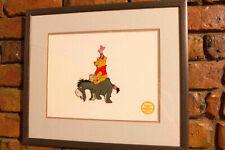 "Walt Disney animation Sericel ""Winnie the Pooh"" blustery day"