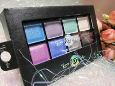 8 Color Makeup Eyeshadow Shimmer Metallic Palette Brush Alpha Bright Beauty 04