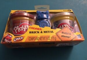 Playdoh Tonka Chuck And Friends Diggin Riggs Colors Brick And Metal