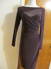 Lauren Ralph Lauren women's raisin insert mesh evening NWT dress size 4