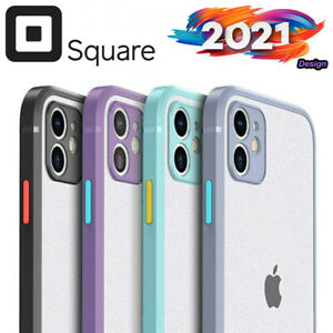iPhone 12 / 12 Pro / 12 Pro Max / 12 Mini Shockproof Case Clear Heavy Duty Cover