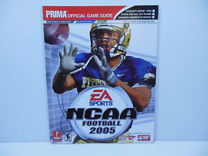 LARRY FITZGERALD SIGNED PITTSBURGH PANTHERS NCAA 05 STRATEGY GUIDE ARIZONA CARDS