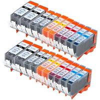 20 NON-OEM INK CARTRIDGE CANON PGI-220 CLI-221 PIXMA MX860 MP560 IP4700 MP640