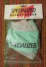 NOS VINTAGE SPECIALIZED HELMET COVER GREEN TOPO S-WORKS NIBALI ROUBAIX RUBY