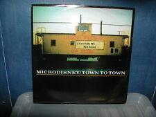"""Microdisney-Town to town 12"""" P/S 1987"""