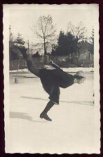 photo ancienne. patinage artistique. Megève . 1932