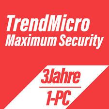 Trend Micro Titanium Maximum Security 2019 VOLLVERSION DEUTSCH - 1PC für 3 Jahre