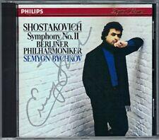 Semyon BYCHKOV Signiert SHOSTAKOVICH Symphony No.11 Berliner Philharmoniker CD