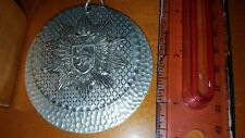 UNIQUE UNKNOWN MEDAL DOUBLE LAYERED WITH SYMBOLS OF LION AND DOUBLE HEADED EAGLE