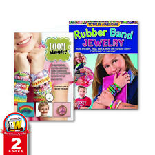Rubber Band Jewelry,Loom Magic Becky Thomas 2 Books Collection Set Paperback NEW