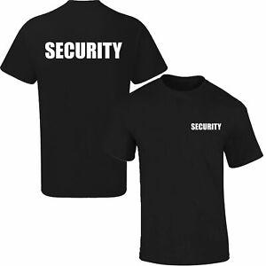 Security SIA Staff Doorman Dog Handler Event T-Shirt PREMIUM Quality