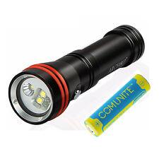 Archon D15VP 1300LM Cree LED Scuba Dive Light Video Flashlight + 18650 Battery