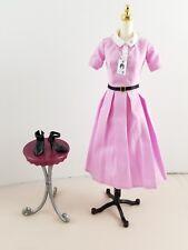 New Barbie Doll Katherine Johnson Pink Dress Badge Shoes Inspiring Women Series