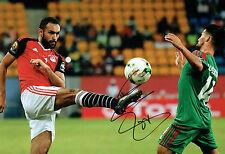 Ahmed ELMOHAMADY Signed Autograph 12x8 Hull City EGYPT Photo A AFTAL COA