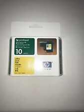 orig. Printer head HP 10 yellow 2000 ccn 2500c cm Colorpro CAD GA C4803A NIP