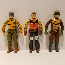 G.I. Joe ARAH 1988 TIGER FORCE Action Figure Lot - SKYSTRIKER LIFELINE TRIPWIRE