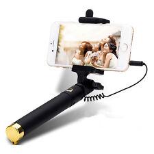Perche Selfie Filaire Télescopique Ultra Mini Version Gold De 18.5 à 80 Cm Neuf