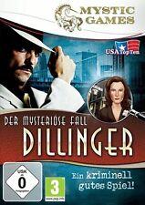 Der Mysteriöse Fall Dillinger für Pc Neu/Ovp