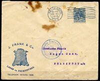 NETHERLANDS ROTTERDAM WORLD WAR I  29.VII 1915  COVER TO FRANKFURT GERMANY