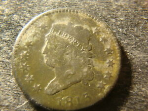 1813 Sheldon Full Date Classic Head Large Cent  FBZ