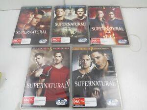 SUPER NATURAL TV Show Series COMPLETE SEASON 3 4 5 6 7  DVD R4