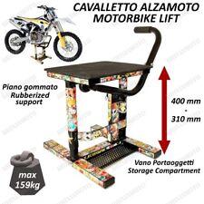 CAVALLETTO MOTO ALZAMOTO CENTRALE CROSS ENDURO UNIVERSALE OFFROAD STICKERBOMB