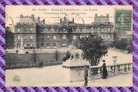 CPA 75 - PARIS - Palais du lixembourg - Les Jardins