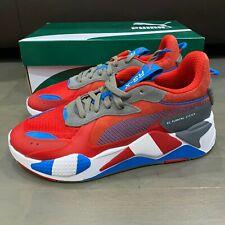 Puma RS-X Retro Red Steel Gray Indigo 371511-01 Men's Size 9.5 New Running Shoe