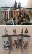 Solo A Star Wars Story Movie Theater Exclusive Cups & Toppers - Master Set of 9