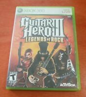 Guitar Hero III Legends Of Rock Microsoft Xbox 360 Activision  Neversoft