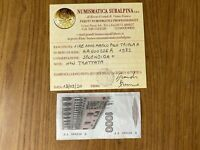 BANCONOTA LIRE 1000 MARCO POLO 1982 TRIPLA A certificata SPL+ SUBALPINA