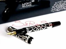 Montblanc Octavian Füller Fountain Pen 4810 Limited Edition 925 Sterling-Silber