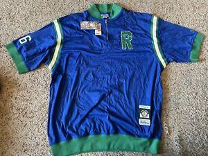 STALL & DEAN Rucker Park 1/4 Zip Basketball JERSEY Vintage Pull Over Shirt 4XL