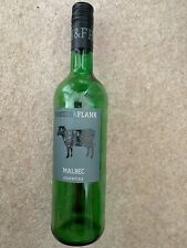 Hanger & Flank Malbec Mendoza red wine empty bottle 75cl upcycle /project