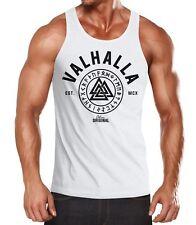 Herren Tank-Top Valhalla Runen Vikings Wikinger Muscle Shirt Neverless®