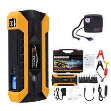 Jump Starter Multi-Function / Power Bank with Led Flash Light & Air Compressor