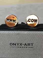 Cufflinks by Onyx Art. London
