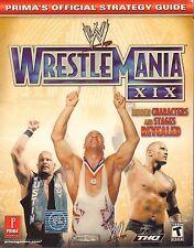 WWE Wrestlemania XIX 2003 Prima's Strategy Guide 042717nonDBE