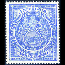 ANTIGUA 1908-17 2.5d Ultramarine. SG 46. Lightly Hinged Mint. (BH029)