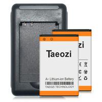 2x Backup Battery BL-5C 1600mAh + Charger F Nokia 6086 6555 6600 6620 6682
