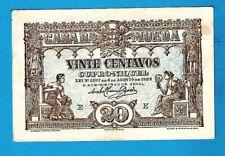 More details for rare aunc portugal/casa da moeda p100 20 centavos cupro nickel masonic 4.8.1922